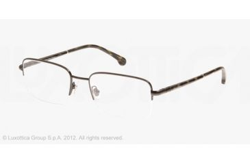 Brooks Brothers BB1016 BB1016 Progressive Prescription Eyeglasses 1536-52 - Black Frame
