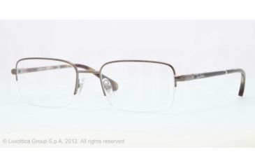 Brooks Brothers BB1016 BB1016 Progressive Prescription Eyeglasses 1616-52 - Olive Frame