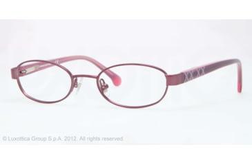 Brooks Brothers BB1021 Eyeglass Frames 1200-46 - Purple Frame
