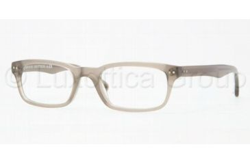 Brooks Brothers BB2003 Single Vision Prescription Eyeglasses 6043-5120 - Taupe Frame, Demo Lens Lenses