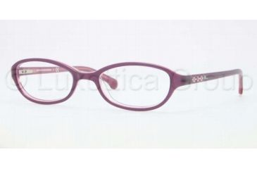 Brooks Brothers BB2006 BB2006 Bifocal Prescription Eyeglasses 6056-4718 - Burgundy Pink Frame, Demo Lens Lenses