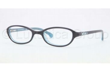Brooks Brothers BB2006 BB2006 Bifocal Prescription Eyeglasses 6057-4718 - Navy Blue Frame, Demo Lens Lenses
