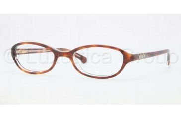 Brooks Brothers BB2006 BB2006 Bifocal Prescription Eyeglasses 6058-4718 - Tortoise Crystal Frame, Demo Lens Lenses