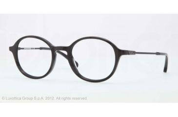 Brooks Brothers BB2012 BB2012 Single Vision Prescription Eyeglasses 6000-47 - Black Frame, Demo Lens Lenses