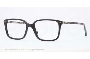 Brooks Brothers BB2013 BB2013 Eyeglass Frames 6000-52 - Black Frame, Demo Lens Lenses