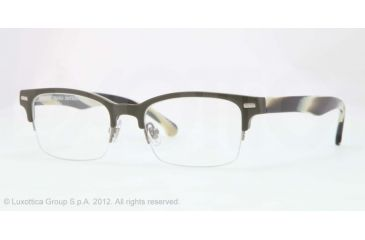 Brooks Brothers BB2014 Bifocal Prescription Eyeglasses 5334-50 - Olive Frame, Demo Lens Lenses