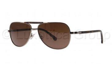 Brooks Brothers BB4003S Single Vision Prescription Sunglasses BB4003S-150773-5714 - Lens Diameter 57 mm, Frame Color Gunmetal