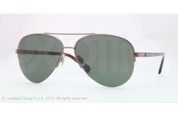 Brooks Brothers BB4018 Single Vision Prescription Sunglasses BB4018-150771-59 - Lens Diameter 59 mm, Frame Color Gunmetal