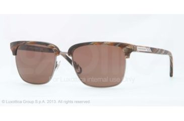 Brooks Brothers BB4021 Bifocal Prescription Sunglasses BB4021-601573-53 - Lens Diameter 53 mm, Frame Color Brown Horn