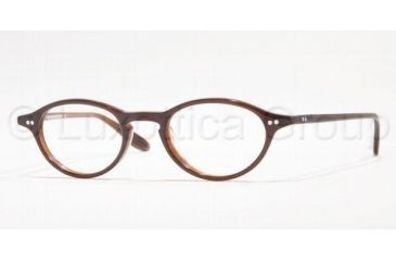 Brooks Brothers BB681 Eyeglasses with Rx Prescription Lenses 5276-4520 - Brown Slate