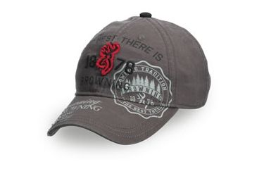 Browning Adonis Cap, Gray, Adult cap adjustable fit 308348691