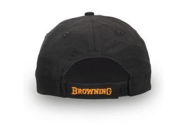 Browning Atka Lite Cap, Black/Orange, Adult cap adjustable fit 308240991