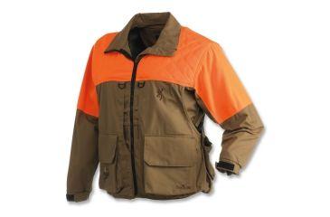 6f2195ddcb99d Browning Birdn Lite Jacket with Pheasants Forever Logo, Khaki/Blaze, S  3046895801