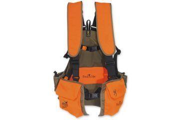 Browning Birdn Lite Strap Vest, Khaki/Blaze, M-L 3006885802