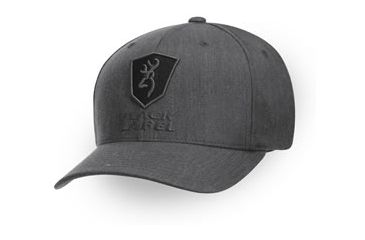 Browning Black Label - Bravo Flex Fit Heather Twill, Gray, S-M 308551892