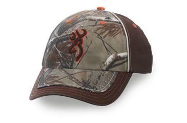 Browning Bushwhacker Cap, Realtree AP/Brown, Adult cap adjustable fit 308237211