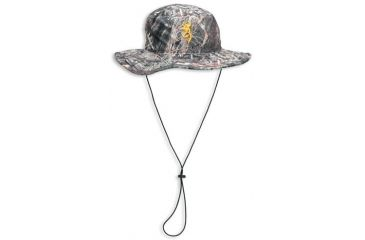 Browning Boonie Camo Hat with Drawstring, Mossy Oak Duck Blind 308118171