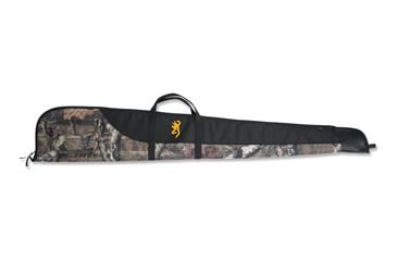 Browning Cimmaron Gun Case, 52in Mossy Oak with Leather Muzzle Cap 1410300152