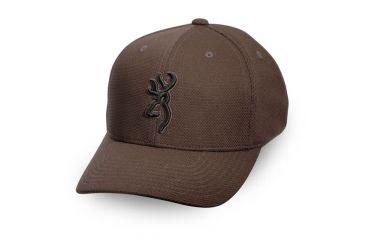 Browning Coronado Pique Cap with Buckmark, Chocolate, S/M 308007982