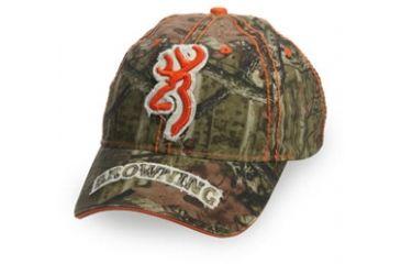 Browning Cottonwood Cap, Mossy Oak Break-Up Infinity, Adult cap adjustable fit 308136201
