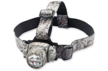 Browning Black Ice Xenon + 3 LED Headlamp, Brush, Model 8231