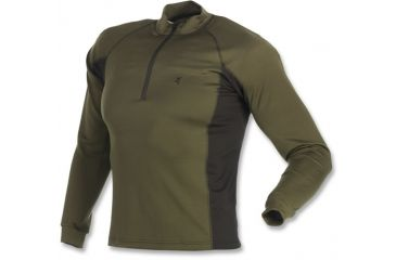 Browning Full Curl Wool Base Layer Top, Loden, L 3011912903