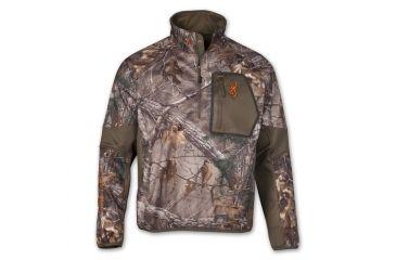 Browning Hells Canyon Jacket, HC Ultra-Lite 1/4 Zip RTX, S 3045832401