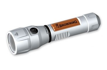 Browning High Power 5303 LED 2AA Flashlight - Silver Walnut 3715303