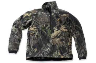 Browning Genesis Fleece Featherlite Zip-Neck Jacket