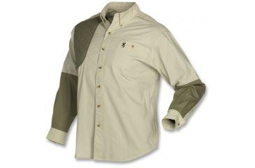Browning Junior Wasatch T-Shirt - Long Sleeve, Desert, L 3011376403