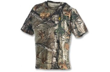 Browning Junior Wasatch T-Shirt - Short Sleeve, Realtree Xtra, L 3011362403