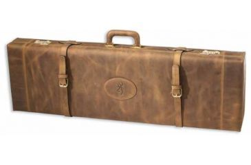 Browning Leather Distressed Fitted Gun Shotgun Case 35
