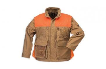 Browning Pheasants Forever Zip-Off Sleeve Jacket, Field Tan, w/o Logo, S 3041193201