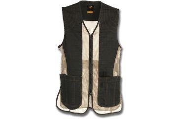 Browning Rhett Shooting Vest, Charcoal/Tan, 2X 3050297905