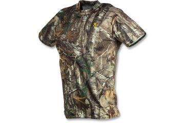 Browning Vapor Max Short Sleeve T-Shirt, Mossy Oak Break-Up Infinity, S 3011512001