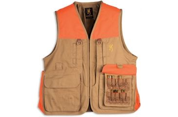 Browning Upland Vest, Field Tan, S 3051193201