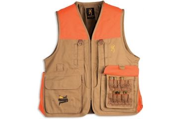 Browning Pheasants Forever Vest For Her with logo embroidery