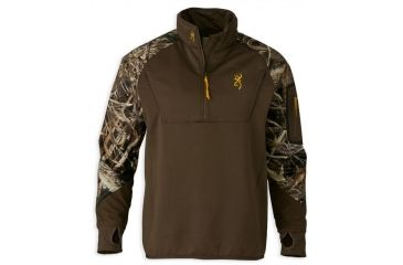 e4acbf7d23df9 Browning Wicked Wing Timber 1/4 Zip Fleece,Mossy Oak Bottomland,L 3016271903