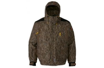 ae4281263b900 Browning Wicked Wing Timber Wader Jacket,Mossy Oak Bottomland,L 3043301903