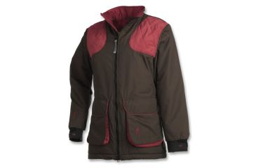 Browning Womens Ballistic Insulated Shooting Jacket, Charcoal/Rose, S 3040146901