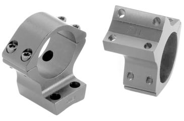 Browning X-Lock Integrated Scope Mounts - 30mm Nickel, .400in Standard Height 12516