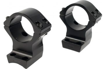 Browning X-Lock Integrated Scope Rings - 1in, Gloss, .600in High Height 12506