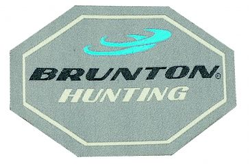 Brunton Badge of Honor, 5inX 6in Brunton Hunting, Goat Patch F-GOATPATCH