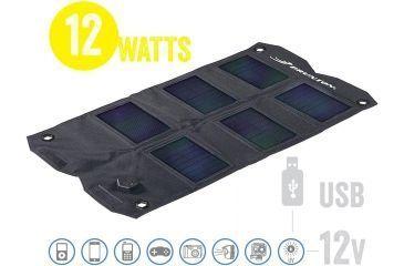 Brunton Explorer 10 Foldable Solar Panel, 10 Watts, 12v and USB output F-EXPLORER10