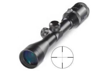 Brunton NRA Sports Optics Fast Focus Hunitng Variable 1.5-6x40mm #1 Duplex Reticle Black Waterproof Riflescope FV15640-1