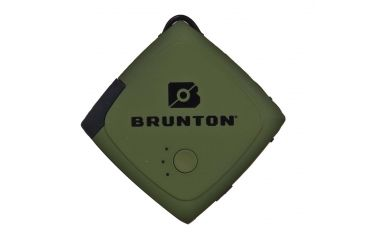 Brunton Pulse 1500 Portable Charger, Outdoor Green, 1x Charge F-PULSE-OG