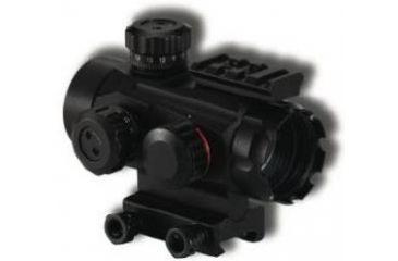 BSA Optics 35mm Tactical Weapon Red & Green Dot, 5 MOA Dot w/ Multi-Reticle, Black, 35mm TW35RGMCP
