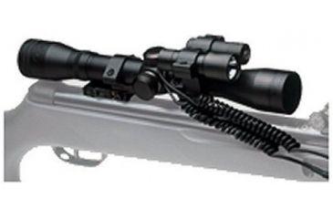BSA Optics 4X32 Scope w/Laser Sight/Flashlight/Pressure Switches & Ring VH4X32LLWR