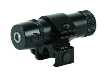 BSA Optics 532nm Green Laser Sight w/ 22 Rail Mount & Weaver Base - Matte Black LS532