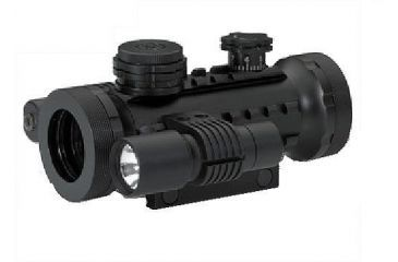 BSA Optics Stealth Series Tactical Red Dot Scope w/Laser and Light STSRGBD30LL